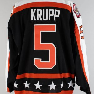 1990-91 NHL All Star Game - Uwe Krupp Game-Worn Hockey Jersey (100% Authentic LOA, Card Photomatch)