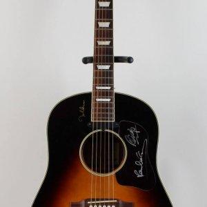 The Beatles - Paul McCartney & Ringo Starr Signed Limited Edition John Lennon Epiphone Guitar (Auction LOA)