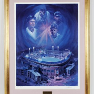 The Dream Fulfilled Comiskey Park Chicago Signed Limited Edition AP 18/100 White Sox