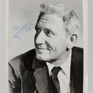 Actor - Spencer Tracy Signed & Inscribed 8x10 Photo (JSA)