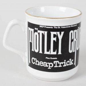 Motley Crue's Vince Neil's Personal Tour Used Coffee Cup