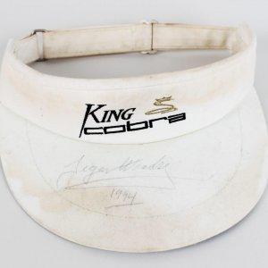1994 Tiger Woods Pre-Rookie Signed King Cobra Visor