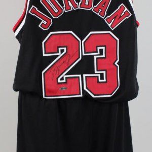 Chicago Bulls- Michael Jordan Game-Worn, Signed Jersey & Shorts