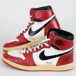 1985-86 Chicago Bulls - Michael Jordan Game-Worn, Signed Sneakers Shoes (JSA Full LOA - UDA COA)