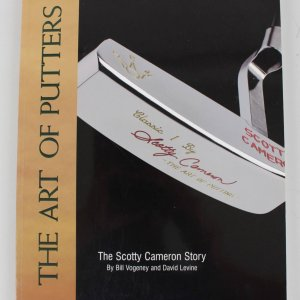 "Scotty Cameron Signed ""The Art of Putters"" Book"