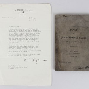 Grinnell Willis Signed Book & Hand-Written Poem