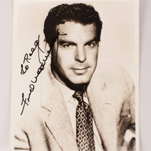 Actor - Fred MacMurray Signed 8x10 Photo (JSA)