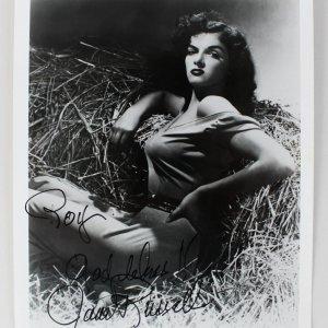 Actress - Jane Russell Signed 8x10 Photo (JSA)