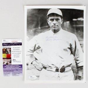 "Boston Red Sox - Harry Hooper Signed, Inscribed "" Best Wishes"" 8x10 B&W Photo (JSA COA)"