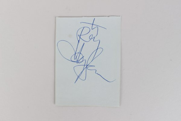 Musician - Harry James Signed 3x4 Cut (JSA)