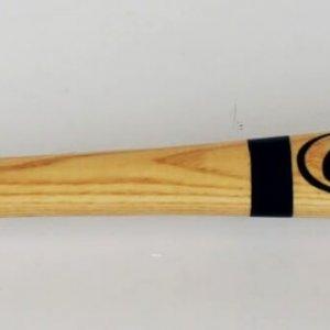 """Chicago Cubs - Ernie Banks Signed & Inscribed """"H.O.F 77"""" Bat (JSA)"""