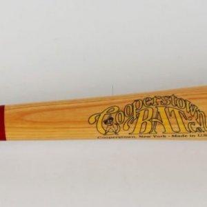 Mr. Cub - Ernie Banks Signed Wrigley Field Cooperstown Bat (JSA)