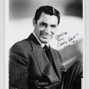 Notorious - Cary Grant Signed & Inscribed 8x10 Circa Photo (JSA Full LOA)
