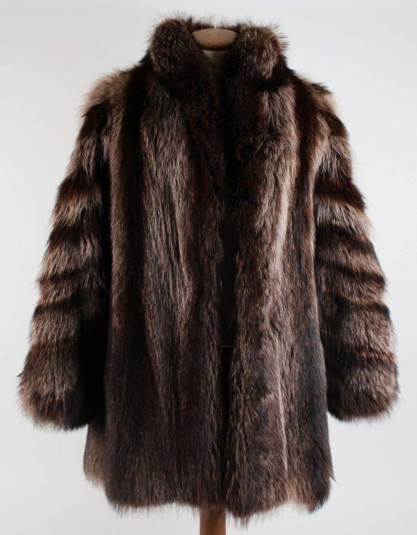 Dr. Feel Good Tour Motley Crue - Sharise Neil Worn Fur Coat (Provenance LOA)