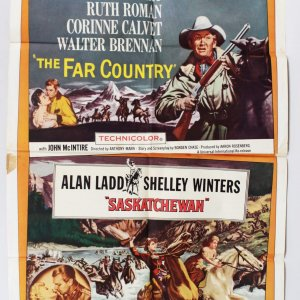 Western & Adventure Film - Poster & Lobby Card Lot Stars Rock Hudson, James Stewart, Ruth Roman etc.