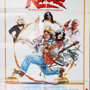 Roadie 27x41 Movie Poster Meat Loaf Alice Cooper