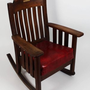 Boston Red Sox - Ted Williams Boys Club Rocking Chair
