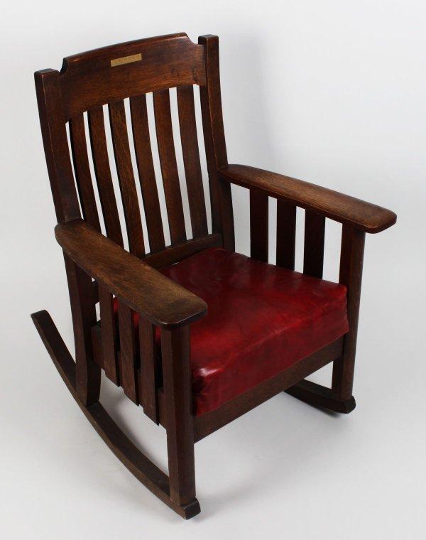 Boston Red Sox - Ted Williams Boys Club Rocking Chair