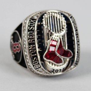 2013 Boston Red Sox - Aly Gonzalez (Coach) World Series Championship Ring w/Original Box (Jostens COA, Jeweler Appraisal)