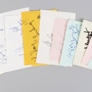 Modern Day Movie Star Signed Lot (10) Vintage Album Page Cuts (JSA)