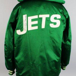 1969 New York Jets - Joe Namath Game-Worn, Signed Heavy Warm-Up Jacket (JSA)