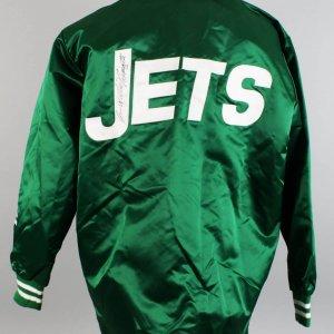1969 New York Jets - Joe Namath Game-Worn, Signed Jacket from Super Bowl Season (JSA)