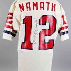1970 Pro Bowl - New York Jets - Joe Namath Game-Worn, Signed Jersey (Provenance LOA, JSA)