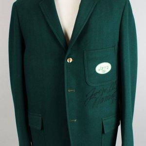 1969 New York Jets - Joe Namath Traveling Worn, Signed Team Blazer Suit Jacket (JSA, Provenance LOA)