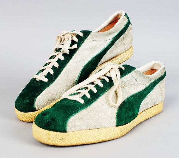 Vintage New York Jets - Joe Namath Custom Worn Walking Sneakers Shoes