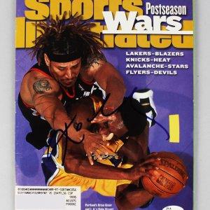 Lakers Kobe Bryant Signed Sports Illustrated Full Magazine (JSA Sticker)