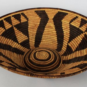 Pima Native Indian Weaved Bowl Basket
