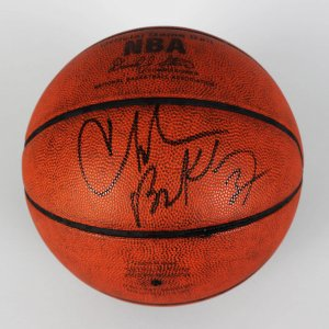 76ers - Suns - Charles Barkley Game-Used, Signed Official Basketball (JSA)