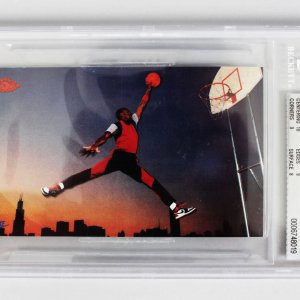 1985 Nike - Chicago Bulls Michael Jordan Rookie Card (#2) Graded BGS NM-MT+ 8.5