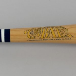 Brooklyn Dodgers - Pee Wee Reese Signed Cooperstown Famous Player Series Bat - JSA