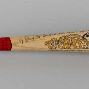 Brooklyn Dodgers Team Signed Cooperstown LE 21/100 Bat (52 Sigs.) - JSA