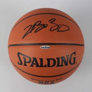 Cleveland Cavaliers - LeBron James Signed Official Basketball - COA UDA