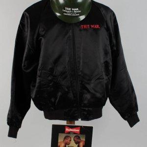 "Boxing - June 12, 1989 - Leonard vs. Hearns ""The War"" Fight Program, Jacket & Military Helmet"