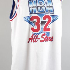 Feb. 13, 1994 - Karl Malone Game-Used, Signed All-Star Game Jersey - JSA