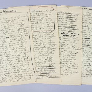 Muhammad Ali's Handwritten Thoughts (1960's) on the White Man, Slavery and Islam (4 Pages) Provenance Khalilah Ali