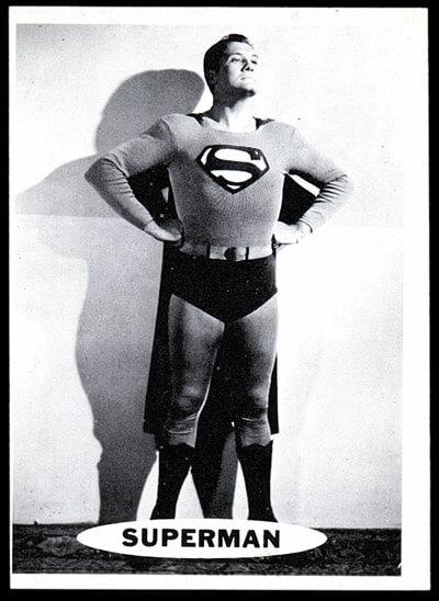 superman george reeves cape