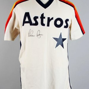 1982 Houston Astros - Nolan Ryan Game-Issued, Signed Jersey - JSA Full LOA