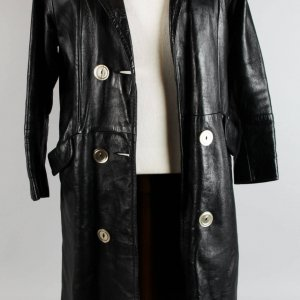 Jimmy Bain's Black Leather Coat Worn In Final Performance Before His Death - Provenance LOA
