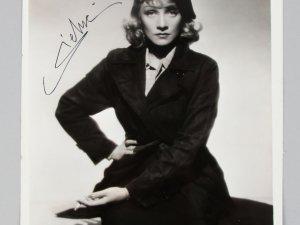 The Blue Angel - Marlene Dietrich Signed 8x10 Vintage Photo- COA JSA
