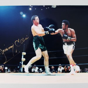 Boxing - Jimmy Ellis Signed 8x10 Photo - PSA/DNA