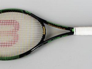 2016 Finals (Win) Serena Williams Italian Open Match-Used Tennis Racquet COA Serena's Camp