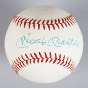 New York Yankees - Mickey Mantle Single Signed OAL Baseball - JSA Full LOA
