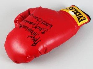 "Floyd ""Money"" Mayweather Jr. Signed & Inscribed Boxing Glove - COA JSA"