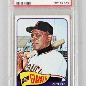 1965 Topps -SF Giants- Willie Mays Baseball Card #250 - PSA EX 5
