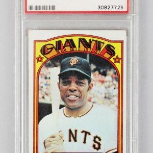1972 Topps -SF Giants- Willie Mays Baseball Card #49 - PSA VG-EX 4