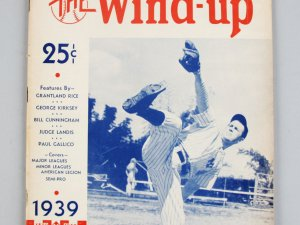 1939 America's Baseball Annual The Wind Up Lefty Gomez HIGHLIGHTS MAJOR AND MINOR LEAGUES